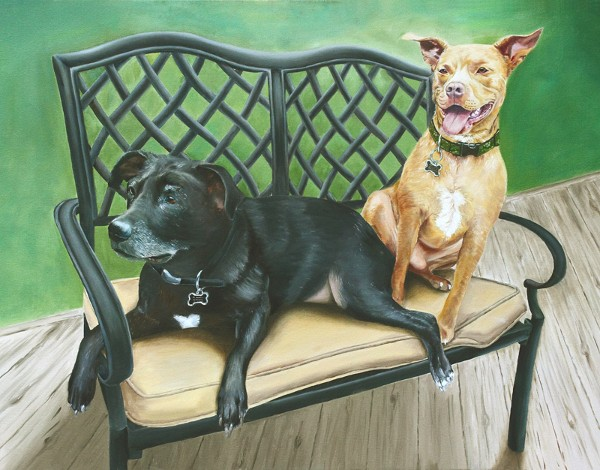 Rex & Jake Pet Portrait